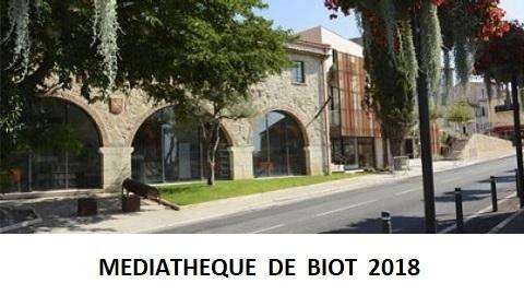 Café de l'Est-Médiathèque Biot 2018_01